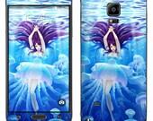 Samsung phone skin - Jellyfish girl