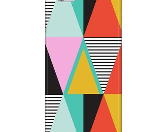 iPhone 5 or 6 case — Graphic Triangles