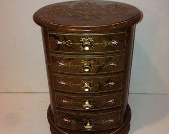 Vintage Large Jewelry/Music Box