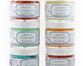 Sugar Scrub - Body Polish Combo Three 2 Ounce Jars - You Choose Scents