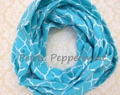 Turquoise baby scarf,baby girl,toddler,girl scarf,baby infinity scarf,children scarves