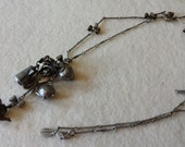sweet romance USA teapot necklace