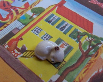 tiniest baby kitten figurine