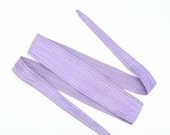CLEARANCE 75% OFF Vintage 80s Pastel Purple Obi Style Lavender Belt Quilted Fabric Wide Waist Cinch Origami Hipster