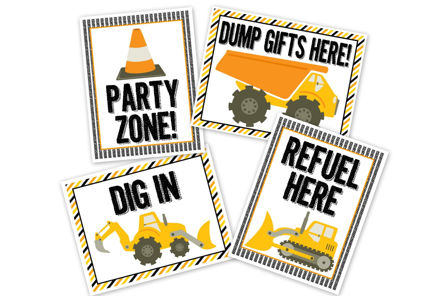 It is a picture of Massif Construction Signs Printable