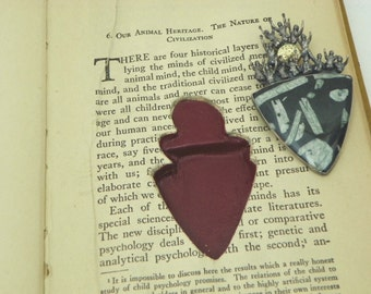 The Mind in the Making; altered book