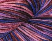 Broken Purple 100% Superwash Merino DK Yarn