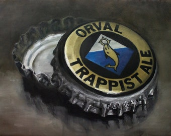 Orval, Original Oil Painting