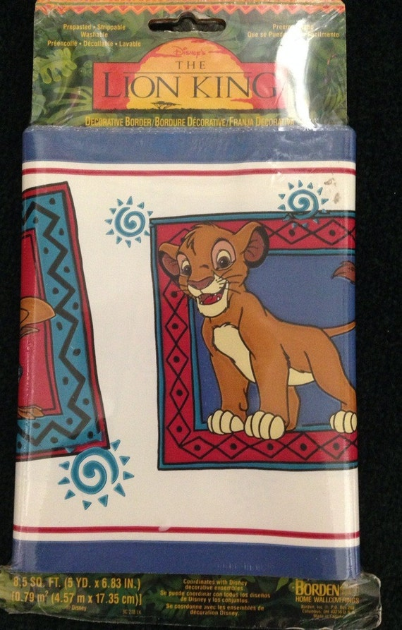 disneys the lion king wallpaper border