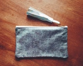 Holographic Glitter Leather Clutch // Holographic Leather Bag // Holographic Glitter Purse // New Year's Eve Purse