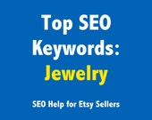 Top SEO Keywords for Jewelry Artists - Etsy SEO Keywords Explained - Help for Etsy Sellers Kit - Seller Handbook - ebook instant download