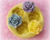 Silicone Rose Mold For Resin Soap Polymer Clay Wax