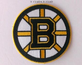 Boston  iron on patch