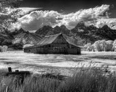 A Barn off Morman Row