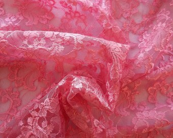 Ravishing High Quality, Finished Edge Lace Fabric