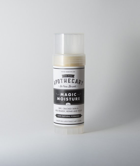 Solid Lotion Stick for dry, cracked skin