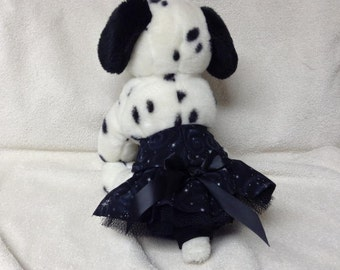 Female Dog Diaper Britches Panties Skirt Dogggie Pants Size XSmall  To 5X Midnight Stars Fabric