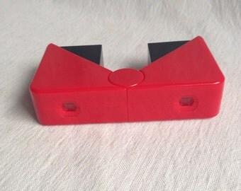 Vintage fold up binoculars  toy binoculars