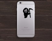 Grim Reaper Vinyl iPhone Decal BAS-0198