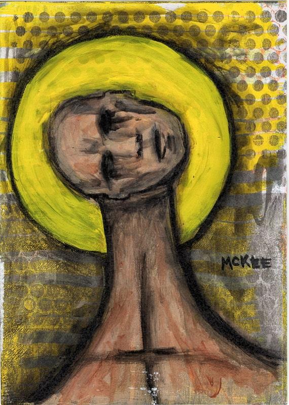 """Marisol McKee Art - """"Divine Sinner"""""""