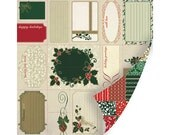 Holiday Traditions Christmas Quilt 8-7613 Perforated Sheets by S.E.I.