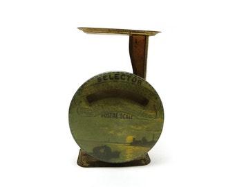 Selector postal scale, vintage postage measuring device