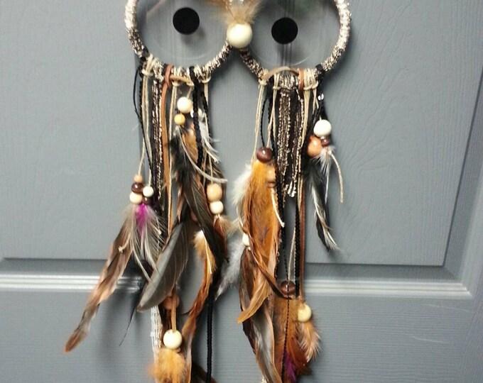 Owl Dream Catcher Custom Made
