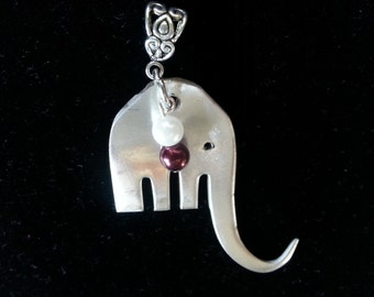 Roll Tide, Elephant necklace, Alabama football, championship jewelry