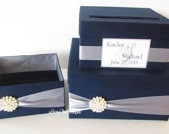 Wedding Card Box, Money Box, and Program Box SET custom made