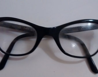 Vintage Cat Eye Safilo Italian Frame Glasses