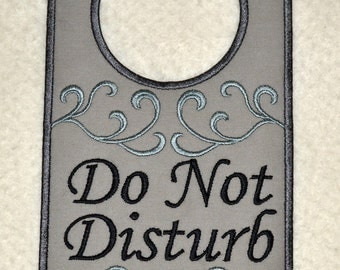 Crafty image in do not disturb door hanger printable