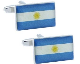 Argentina Flag Cufflinks