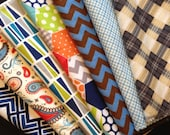 Cloth Napkins, Reusable Napkins, Eco Friendly Napkins, Cloth Wipes, 12 Pack Variety