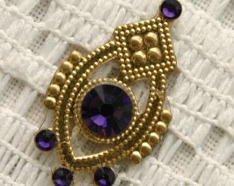 SALE - Affordable Purple Velvet Bindi