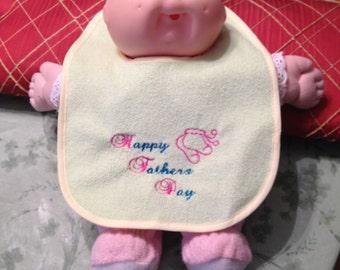Father's Day Bib, Baby Bib, Bib for Father's Day