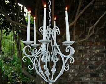 Items Similar To Wedding Chandelier Custom Made Rustic