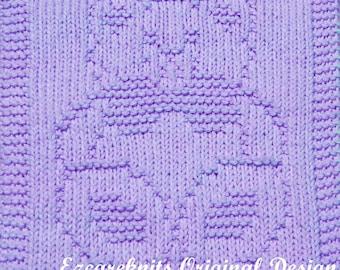 Knitting Pattern - SITTING BEAR - PDF