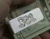 Dad Money Clip - Hand Engraved Money Clip in an Original Design by JBowerEngraving - Perfect for Father's Day