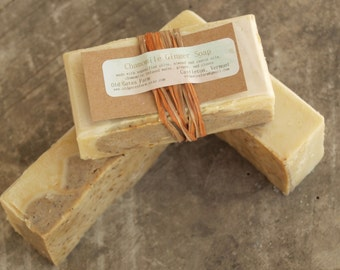 Farm Fresh Rustic Chamomile Ginger Soap