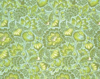 Tula Pink Elizabeth Bats in the Belfry in Tart Modern Cotton Quilt Fabric One Yard