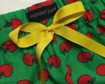 Apple - Womens Mini Sleep Shorts