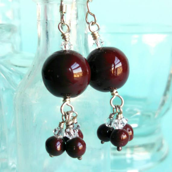 Truffle Drop Earrings
