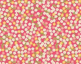 Floribella Floral in Pink c4322 - FLORIBELLA by Emily Taylor - Riley Blake Designs Fabric  - By the Yard