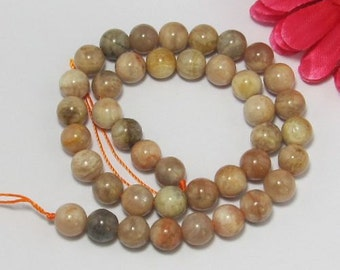 Yellow Moonstone 10mm round Loose Beads