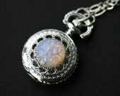 Moon Opal Pocket Watch