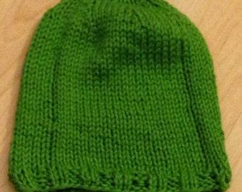 Basic Handmade Knit Baby Hat