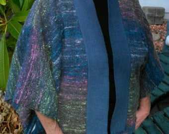 PDF Download Pattern for the Easy Woven Jacket - A Simple Kimono Made on a Small Rigid Heddle Loom