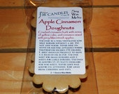 Apple Cinnamon Doughnuts Soy Wax Tart Melts - 2 Pack - Scented Wax Melts/Soy Tarts/Spiced Scent/Fragrant Tarts