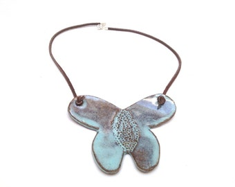 Ceramic necklace for women , Ceramic pendant , Ceramic jewelry Pendant , Ceramic necklace , Ceramic jewellery ,  Gift for her
