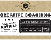 CREATIVE COACHING - Soul-Based Brand Development Coaching Service - Get to the Heart of you Brand!   Heart-Based Business Coaching